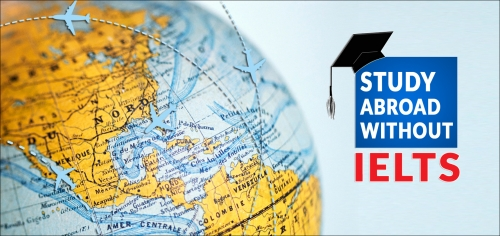 Study abroad without IELTS - What are the options?