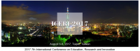 2017 7th International Conference on Education, Research and Innovation (ICERI 2017)