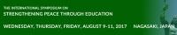 The International Symposium on Strengthening Peace through Education