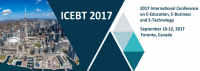 2017 International Conference on E-Education, E-Business and E-Technology (ICEBT 2017)