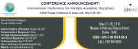 International Conference for Multiple Academic Disciplines