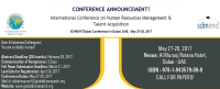 International Conference on Human Resources Management & Talent Acquisition