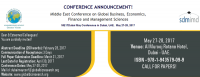 Middle East Conference on Global Business, Economics, Finance and Management Sciences