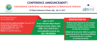 International Conference on Management & Behavioural Sciences