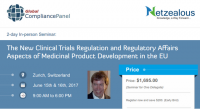 The New Clinical Trials Regulation and Regulatory Affairs Aspects 2017