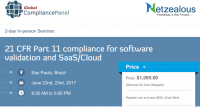 21 CFR Part 11 compliance for software validation and SaaS/Cloud - Brazil