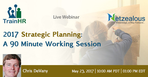 2017 Strategic Planning: A 90 Minute Working Session, Fremont, California, United States