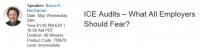ICE Audits – What All Employers Should Fear?