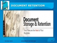 Document Retention, you don't have to be overwhelmed with that all too frustrating Paper Chase