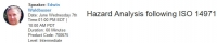 Hazard Analysis following ISO 14971