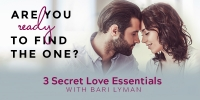 3 Secret Love Essentials for Meeting Your Perfect Match