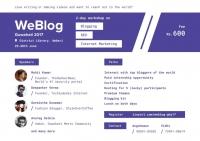 WeBlog Guwahati 2017