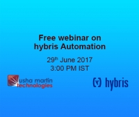 A free webinar on Hybris Automation for a better understanding of its advantages to the customer!!
