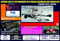 MEQNZO-2016 (National Level Hi-Tech Workshop on IC Engines Assembling and Dismantling )