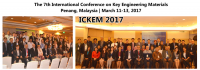 7th International Conference on Key Engineering Materials (ICKEM 2017)