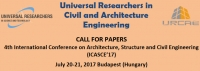 4th International Conference on Architecture, Structure and Civil Engineering (ICASCE'17)