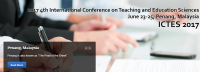 2017 4th International Conference on Teaching and Education Sciences (ICTES 2017)